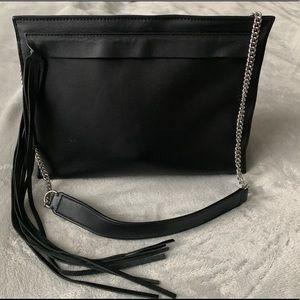 All Saints Black Shoulder Bag